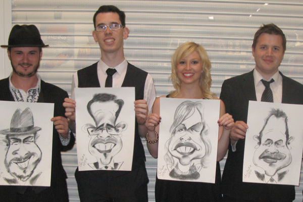 Live Entertainment Caricaturists